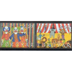 Faroe (Islands) - 2002- Nb 419/420 - Circus