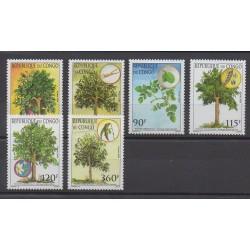 Congo (Republic of) - 2005 - Nb 1100/1105 - Trees