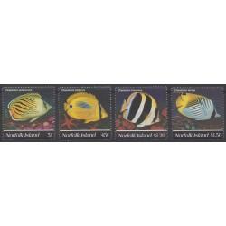 Norfolk - 1995 - Nb 574/577 - Sea animals