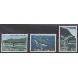 Norfolk - 1995 - Nb 571/573 - Sea animals