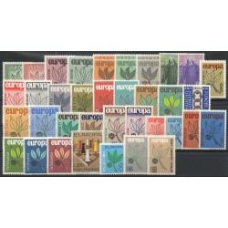 Europa - 1965 - 36 valeurs - 19 pays