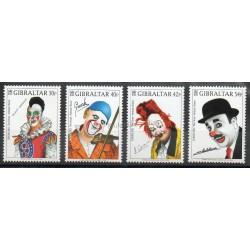 Gibraltar - 2002- Nb 1003/1006 - Circus