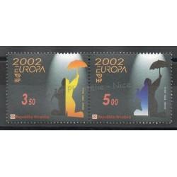 Croatie - 2002- No 575/576 - Cirque