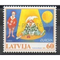 Lettonie - 2002- No 538 - Cirque