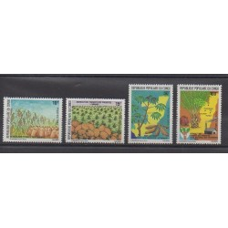 Congo (Republic of) - 1984 - Nb 722/725 - Fruits or vegetables