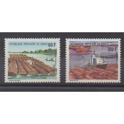 Congo (République du) - 1985 - No 747/748 - Transports