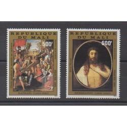 Mali - 1981 - No PA416/PA417 - Peinture - Pâques