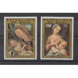 Mali - 1981 - No PA434/PA435 - Peinture - Noël