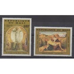 Mali - 1982 - No PA447/PA448 - Peinture - Pâques