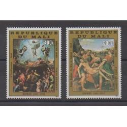 Mali - 1983 - Nb PA468/PA469 - Paintings - Easter