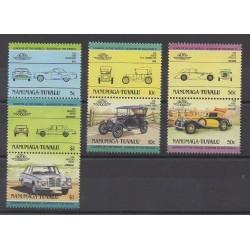 Tuvalu - 1984 - Nb 3 - Cars