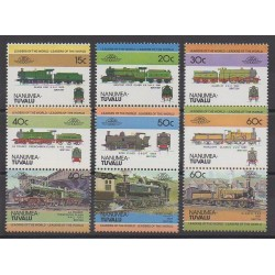 Tuvalu - 1984 - Nb 1 - Trains