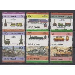 Tuvalu - 1984 - Nb 2 - Trains