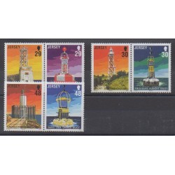 Jersey - 2003 - Nb 1087/1092 - Lighthouses