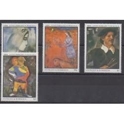 Antigua et Barbuda - 1987 - No 979/982 - Peinture