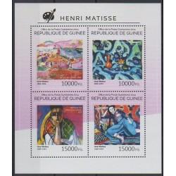 Guinée - 2014 - No 7430/7433 - Peinture
