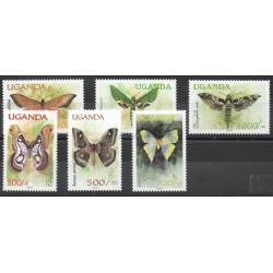 Ouganda - 2000- No 1797/1802 - Papillons