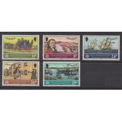 Jersey - 1983 - No 298/302 - Service postal