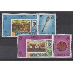 Jersey - 1983 - Nb 293/296 - Europa