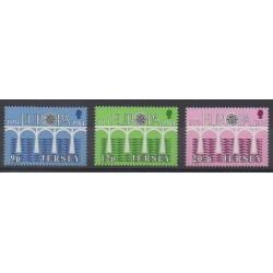 Jersey - 1984 - Nb 314/316 - Europa