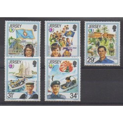 Jersey - 1985 - Nb 344/348