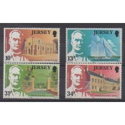 Jersey - 1985 - Nb 360/363 - Celebrities