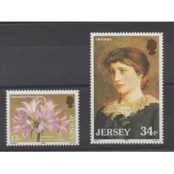 Jersey - 1986 - Nb 366/367 - Flowers
