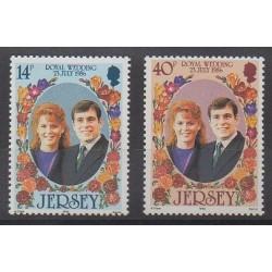 Jersey - 1986 - Nb 380/381 - Royalty