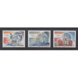 New Caledonia - 2008 - Nb 1048/1050 - Summer Olympics