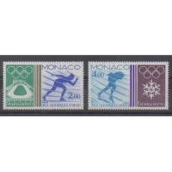 Monaco - 1984 - Nb 1416/1417 - Winter Olympics
