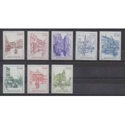 Monaco - 1984 - Nb 1404/1411 - Sights