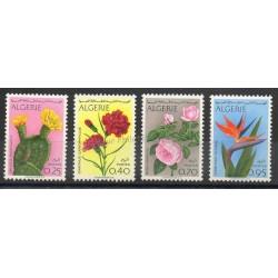 Algérie - 1969- No 484/487 - fleurs
