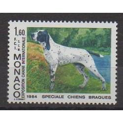 Monaco - 1984 - Nb 1425 - Dogs
