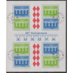 Monaco - Blocks and sheets - 1984 - Nb BF28 - Europa - Used