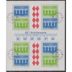 Monaco - Blocs et feuillets - 1984 - No BF28 - Europa - Oblitéré