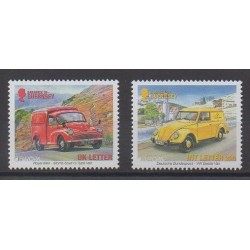 Guernesey - 2013 - No 1431/1432 - Service postal - Voitures - Europa