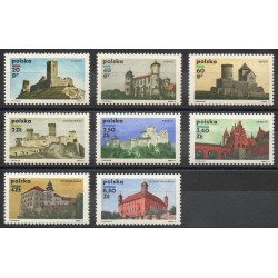 Pologne - 1971- No 1905/1912 - Monuments