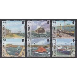 Aurigny (Alderney) - 2012 - Nb 453/458 - Boats