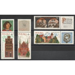 Pologne - 1971- No 1935/1938 - Monuments