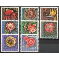 Pologne - 1968- No 1686/1693 - Fleurs