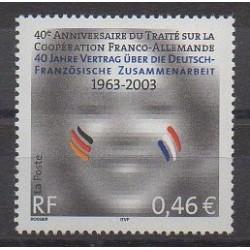 France - Poste - 2003 - Nb 3542 - Europe