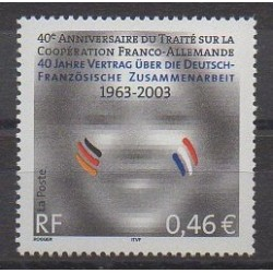 France - Poste - 2003 - No 3542 - Europe