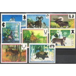 Pologne - 1973- No 2091/2098 - Animaux