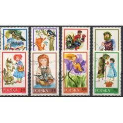 Pologne - 1968- No 1678/1685 - Dessins animés - BD - Oblitéré