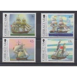Gibraltar - 2006 - Nb 1171/1174 - Boats
