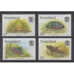 Swaziland - 1988 - No 537/540 - Insectes