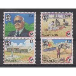 Swaziland - 1989 - No 549/552 - Santé ou Croix-Rouge