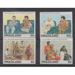 Swaziland - 1989 - No 553/556 - Royauté - Principauté