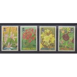 Swaziland - 1991 - No 588/591 - Fleurs
