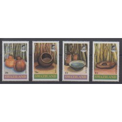 Swaziland - 1993 - Nb 614/617 - Craft